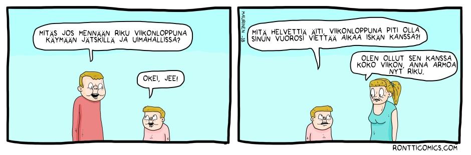 Iskän kanssa_01 20180106